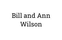 Bill and Ann Wilson