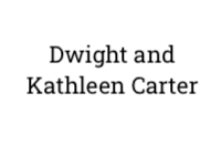 Dwight and Kathleen Carter
